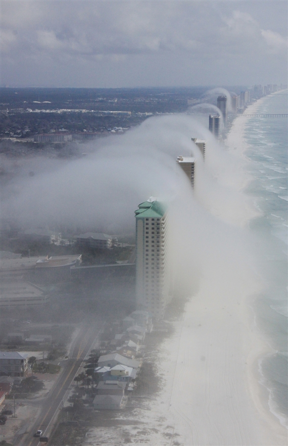 Cool fog waves in fl salt for Florida cool